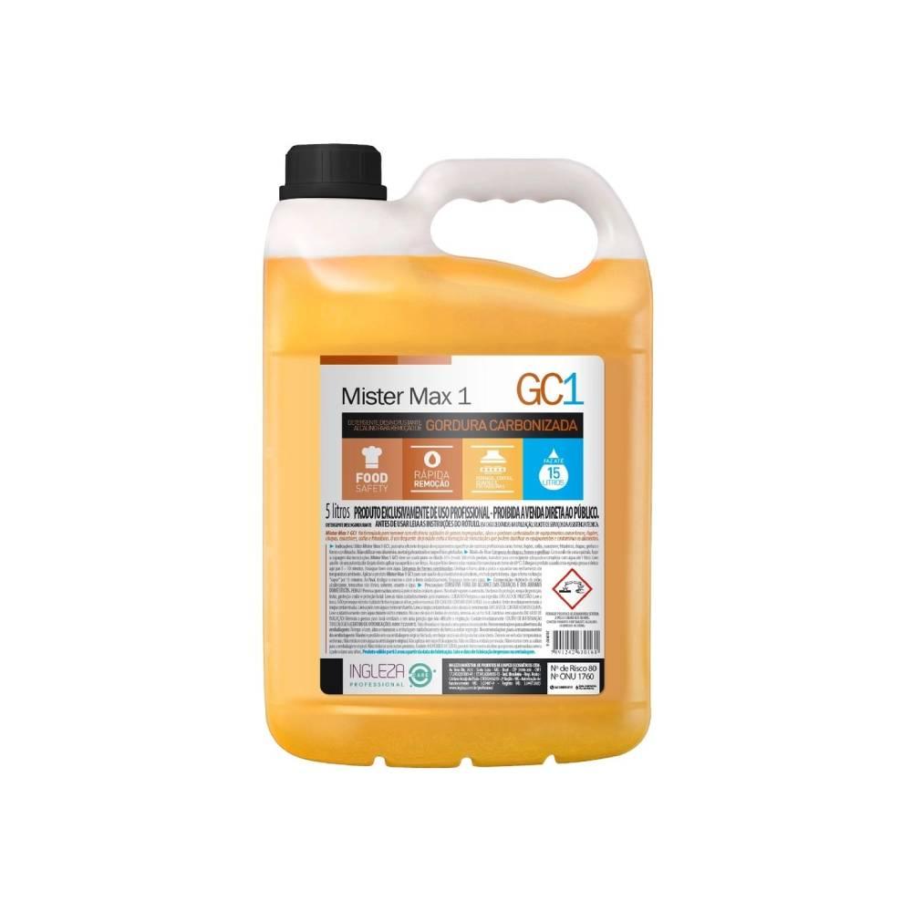 Desincrustante para Gordura Carbonizada 5L – INGLEZA