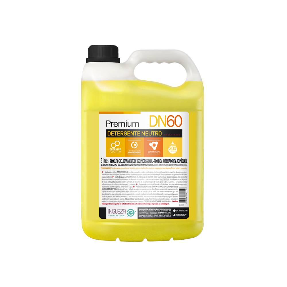 Detergente Neutro Concentrado DN60 5L – INGLEZA