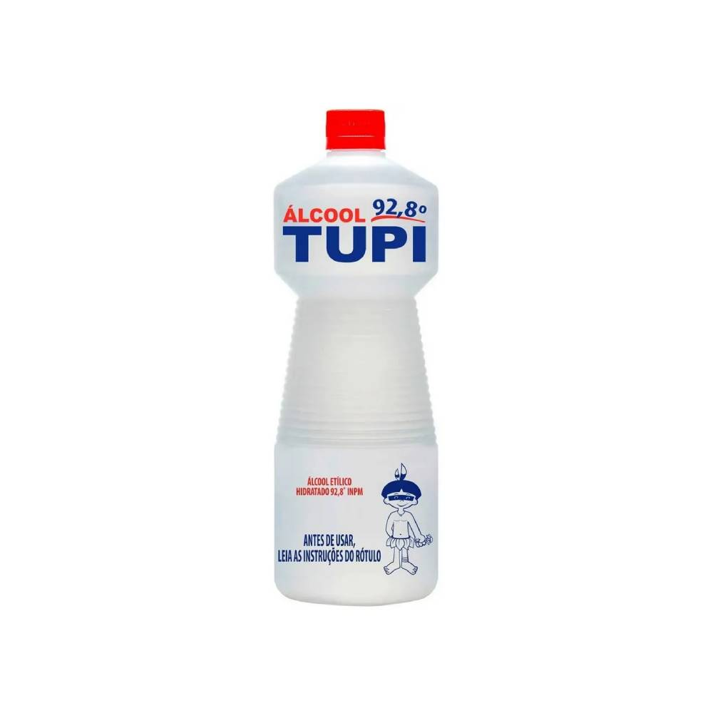 Álcool 92,8° INPM 1L – TUPI