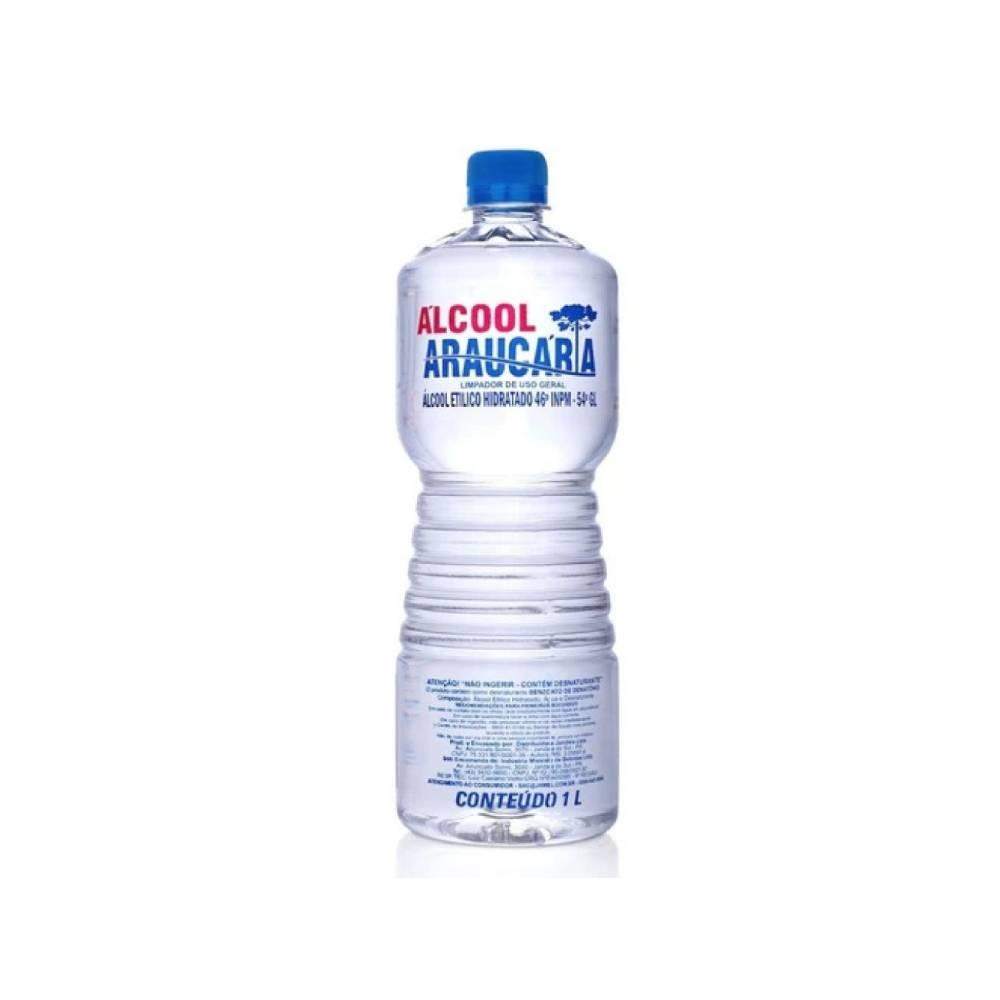 Álcool 70% INPM 1L – ARAUCÁRIA