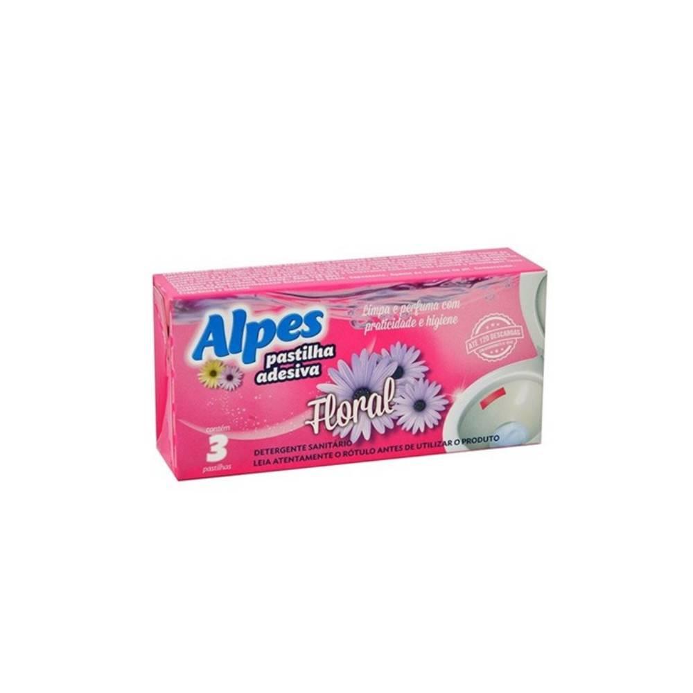 Higienizador Sanitário 3 Adesivos – ALPES