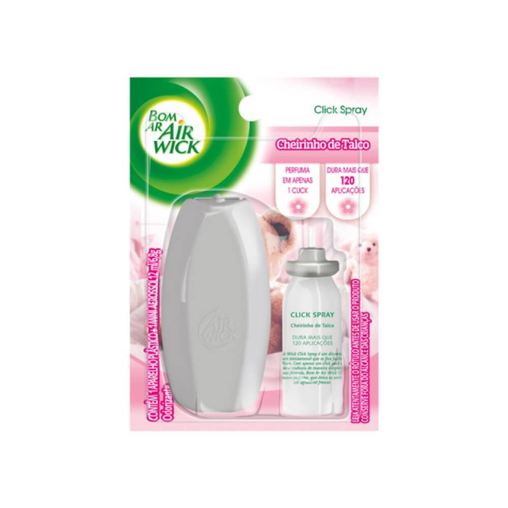 Desodorizador Click Spray Talco – BOM AR
