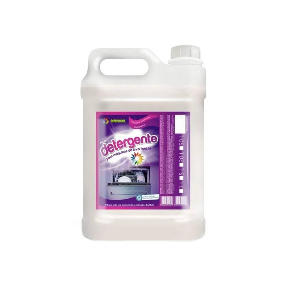 Detergente para Máquina Lava Louças 5L – SEVENGEL