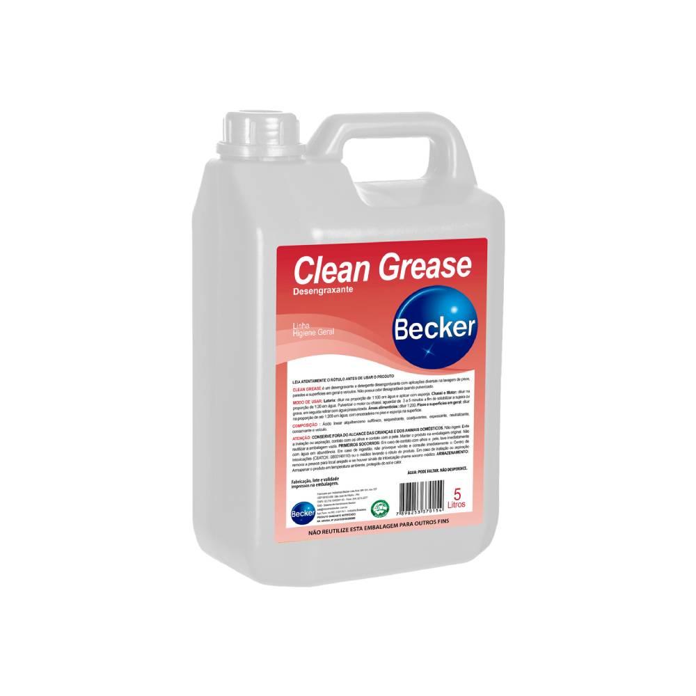 Desengordurante Clean Grease 5L – BECKER