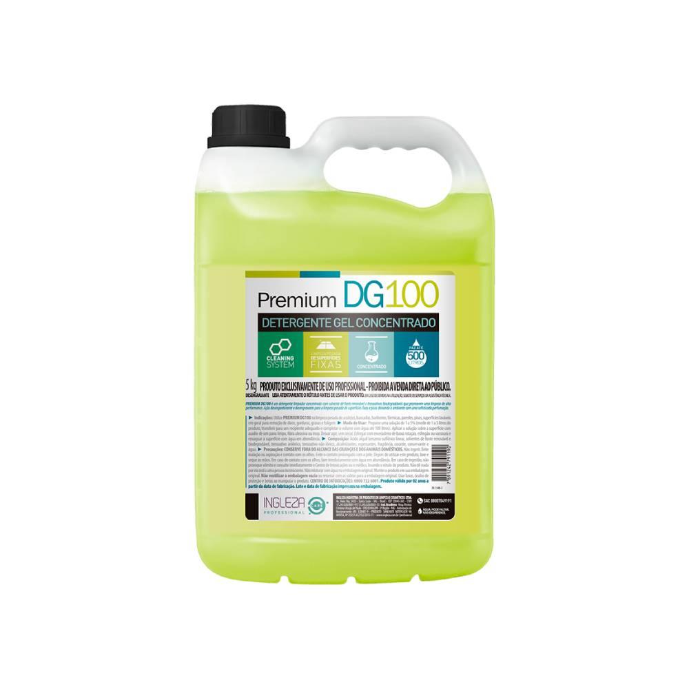 Detergente Gel Concentrado Premium DG100 5L – INGLEZA