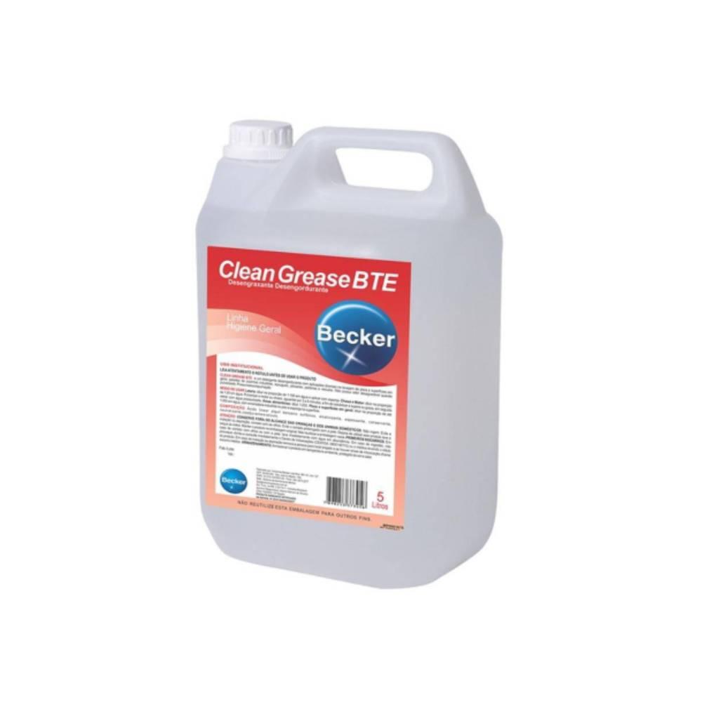 Desengraxante Clean Grease BTE 5L – BECKER