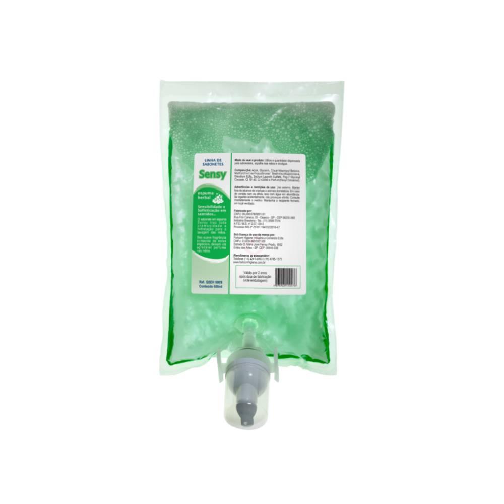 Refil Sabonete Espuma Herbal Sensy 600ml – FORTCOM