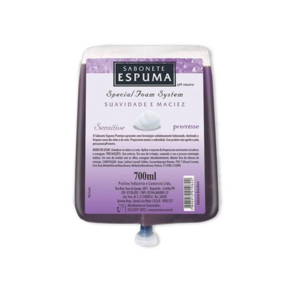 Refil Sabonete Espuma Sensitive 700ml – PREMISSE