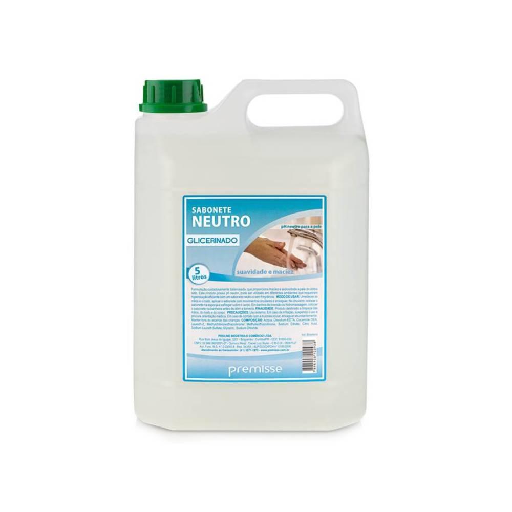 Sabonete Líquido Neutro Glicerinado 5L – PREMISSE