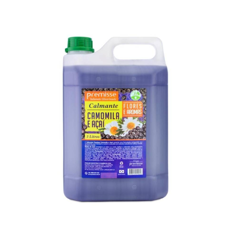 Sabonete Líquido Açaí e Camomila 5L – PREMISSE