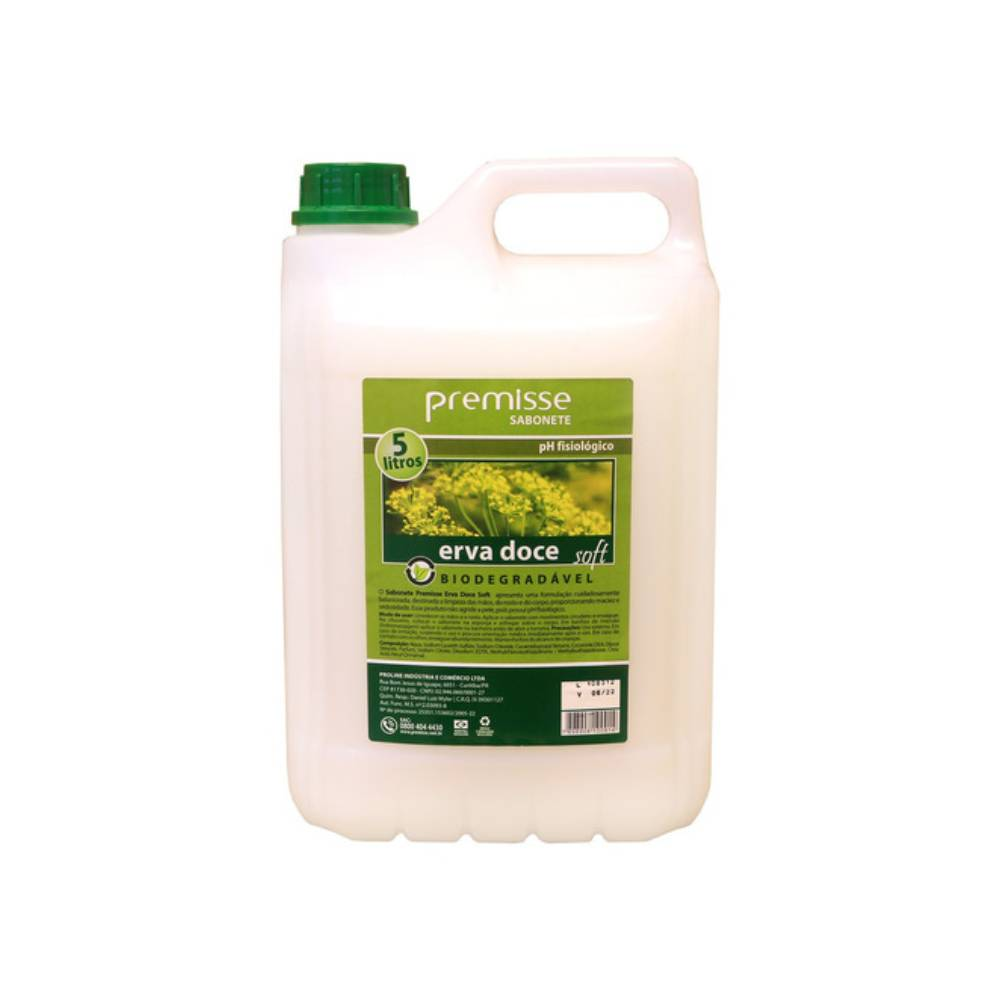 Sabonete Líquido Erva Doce Soft Perolizado 5L – PREMISSE