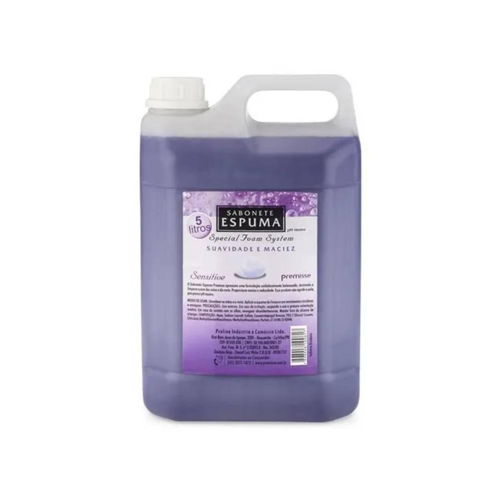 Sabonete Espuma Sensitive Suavidade e Maciez 5L – PREMISSE