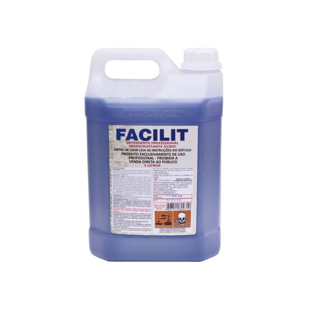 Detergente Ácido Limpa pedra Facilit 5L – BIRMINGHAM