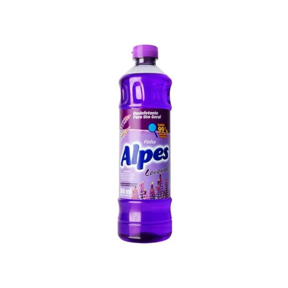 Desinfetante para Uso Geral Lavanda 500ml – ALPES