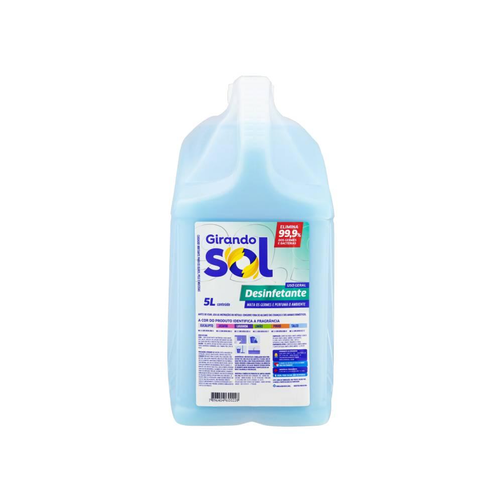 Desinfetante Uso Geral Talco 5L – GIRANDO SOL