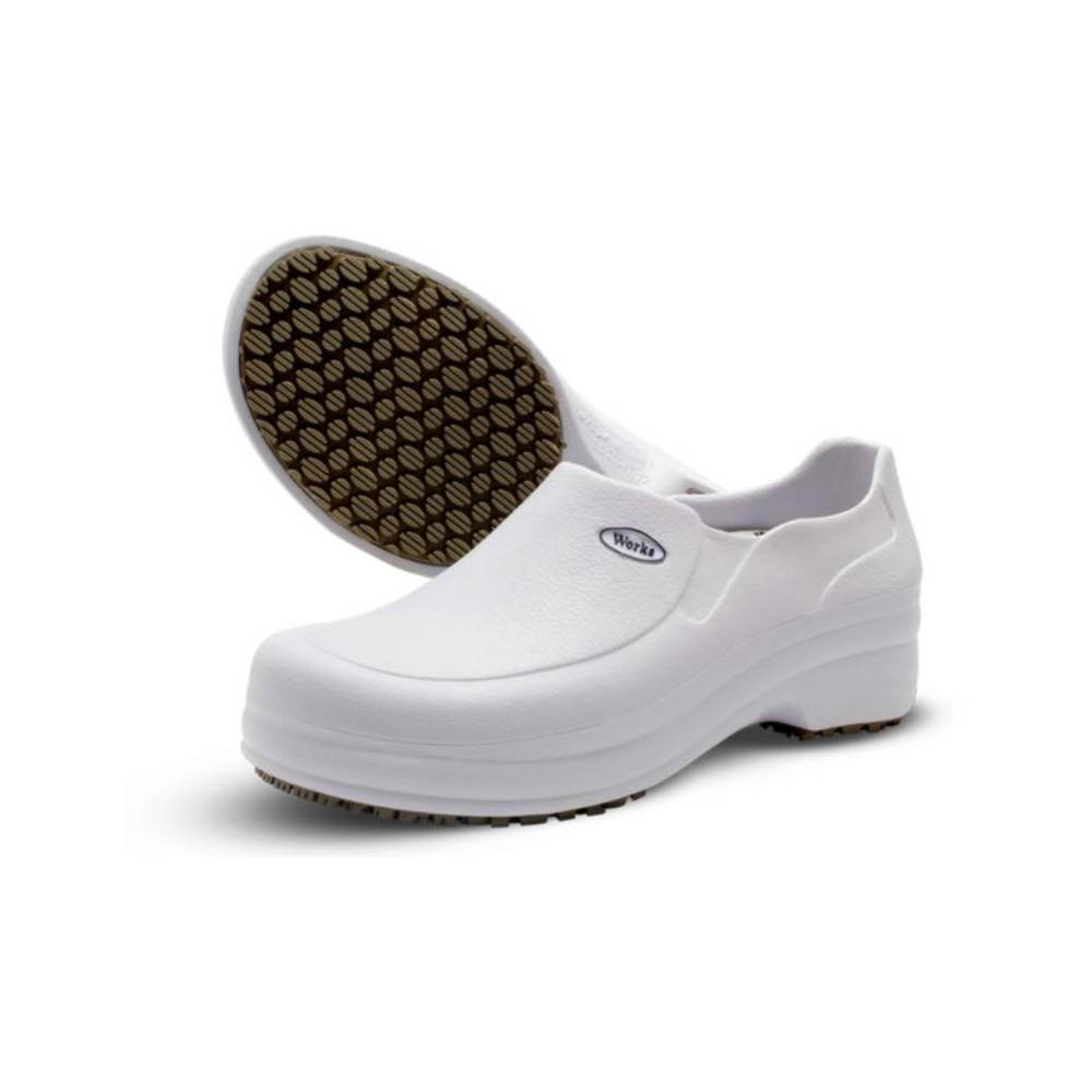 Sapato Branco E.V.A Antiderrapante – SOFT WORKS