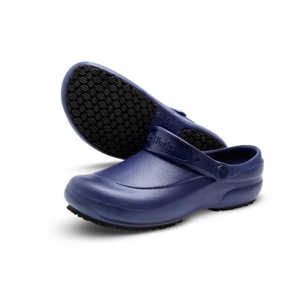 Crocs Azul E.V.A Antiderrapante – SOFT WORKS