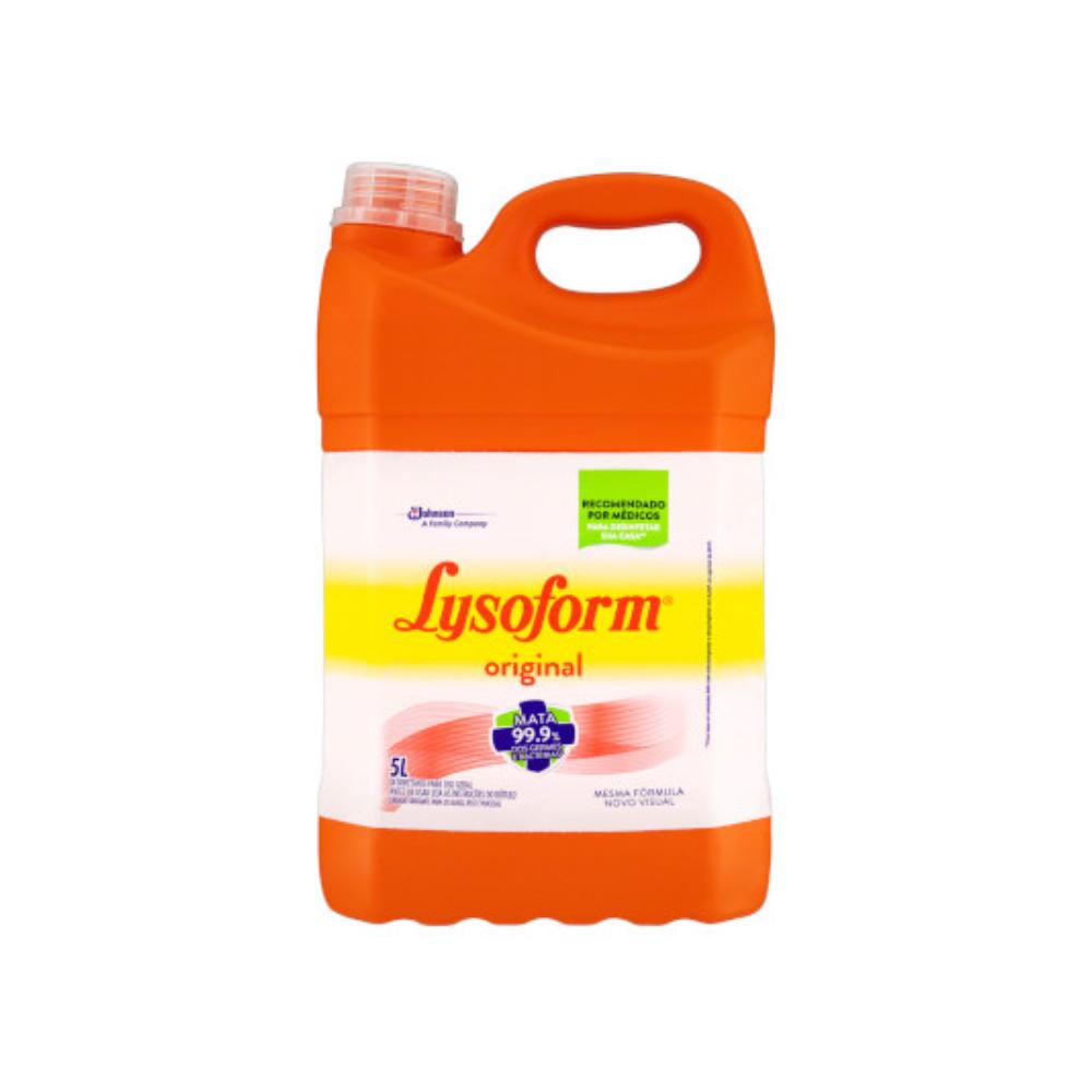 Desinfetante LysoForm Original 5L – BOM BRIL