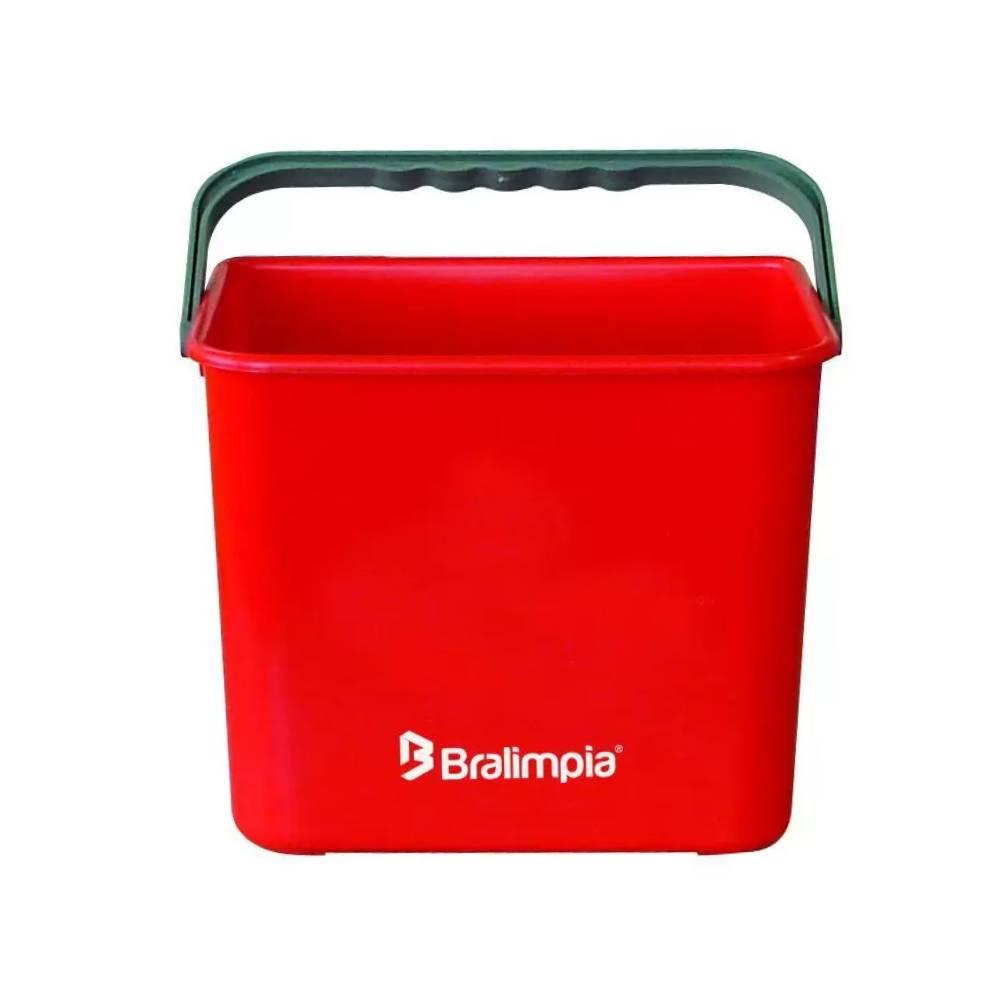 Balde Vermelho BA04VM – BRALIMPIA