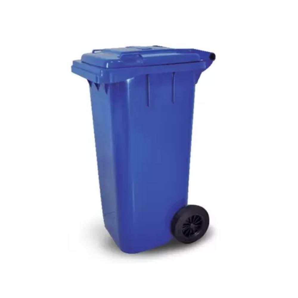 Contentor com Rodas Azul 120L – BRALIMPIA