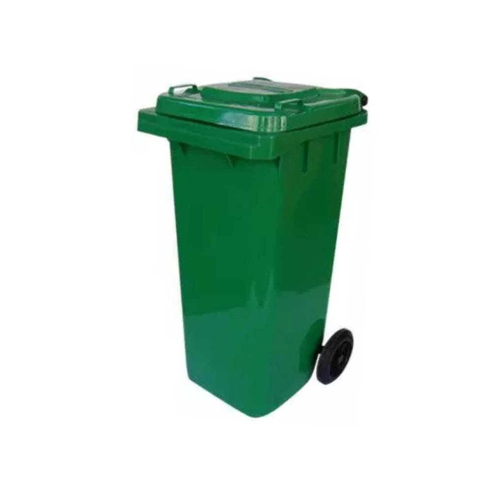 Contentor com Rodas Verde 120L – BRALIMPIA