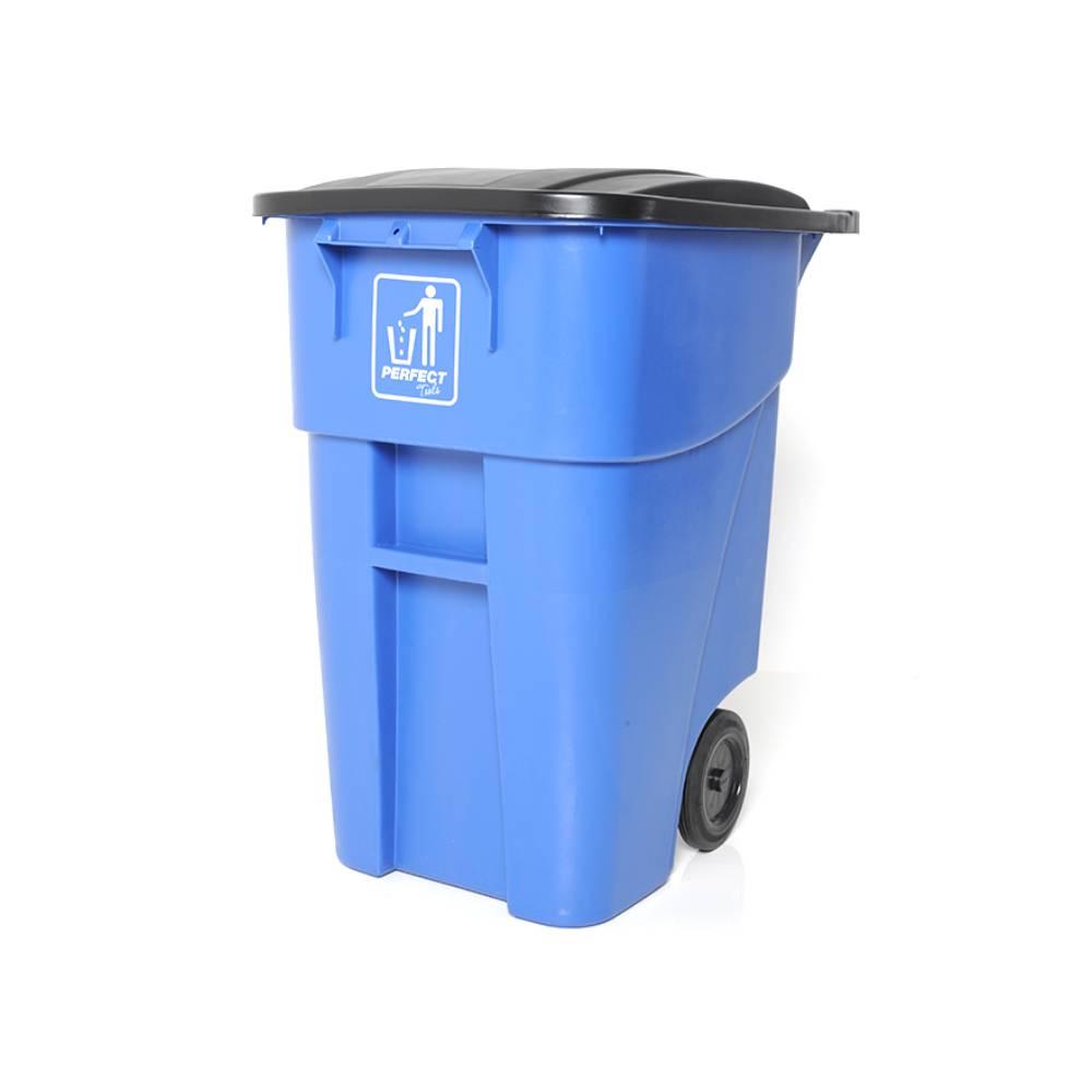 Contentor com Rodas Azul 200L – PERFECT
