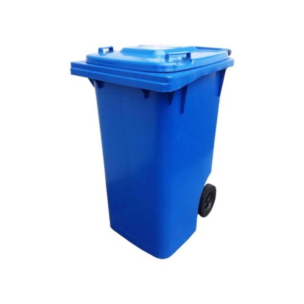 Contentor com Rodas Azul 240L – BRALIMPIA