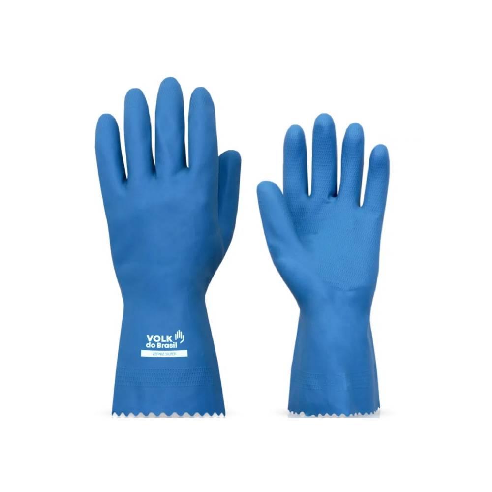 Luva Sanitizada Verniz Azul – VOLK
