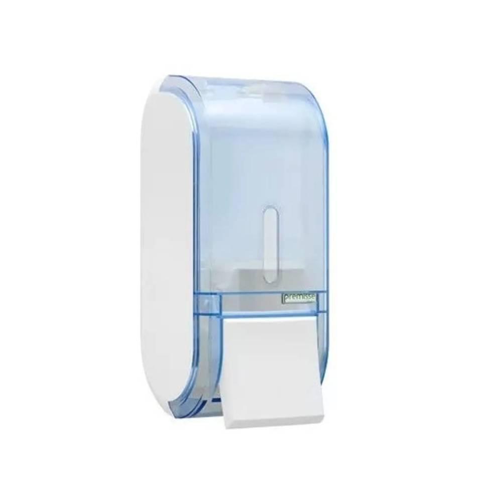 Saboneteira sem Reservatório Urban Glass Azul – PREMISSE