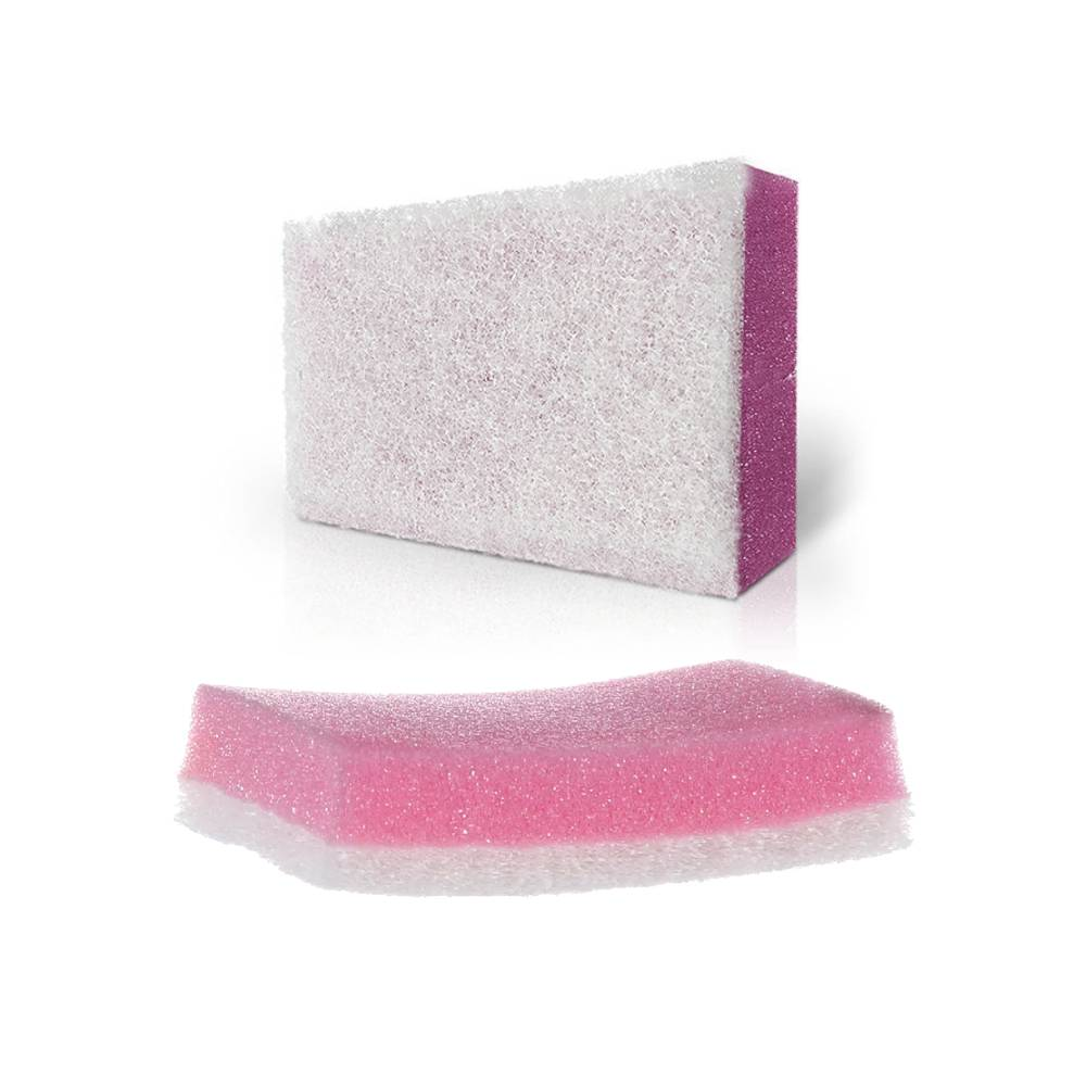 Esponja Dupla Face Sanitária e Antiaderente Rosa – 3M