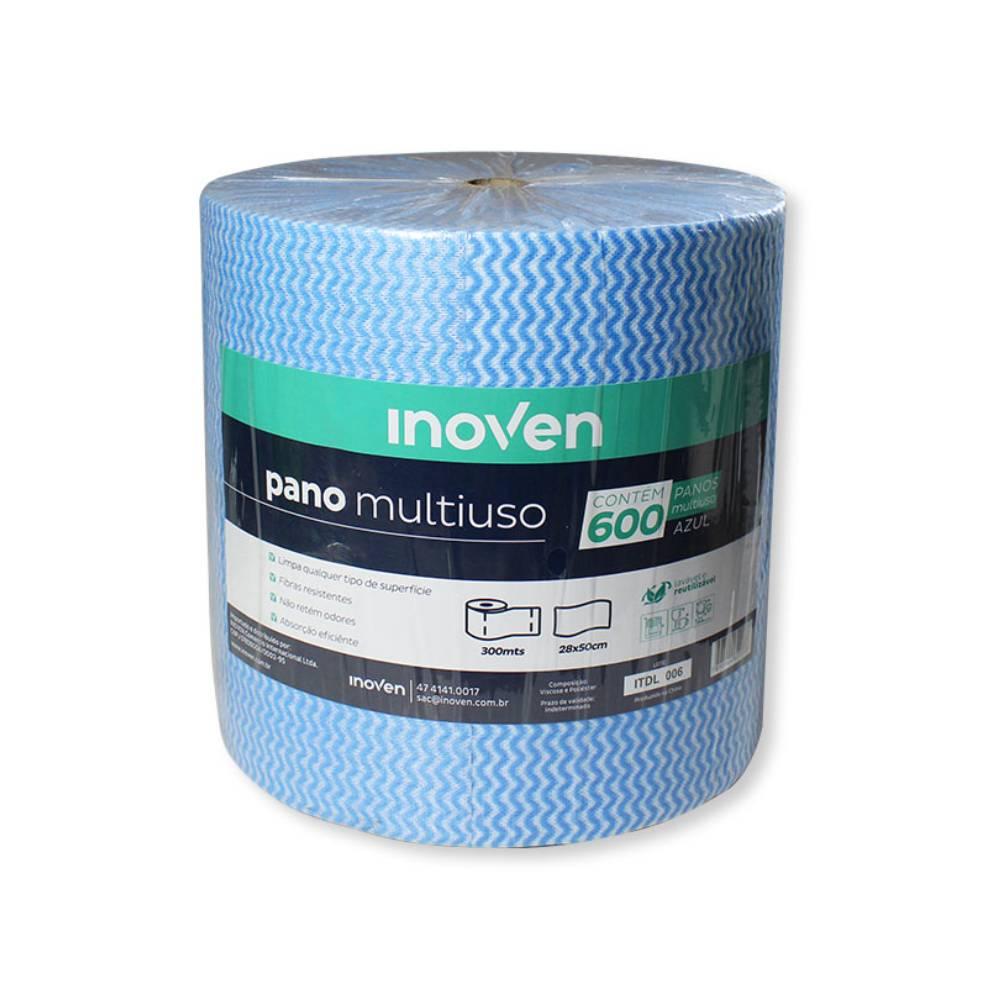 Pano Multiuso Picotado 35gr Azul – INOVEN