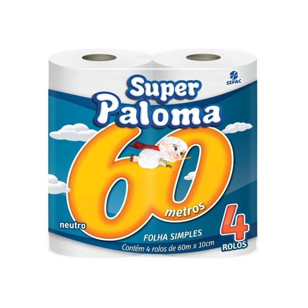 Papel Higiênico 4X60m – PALOMA