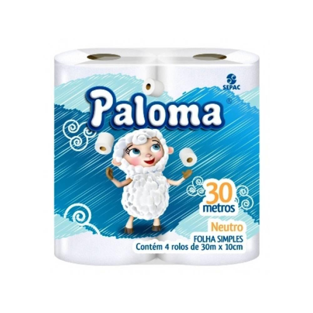 Papel Higiênico 4x30m – PALOMA