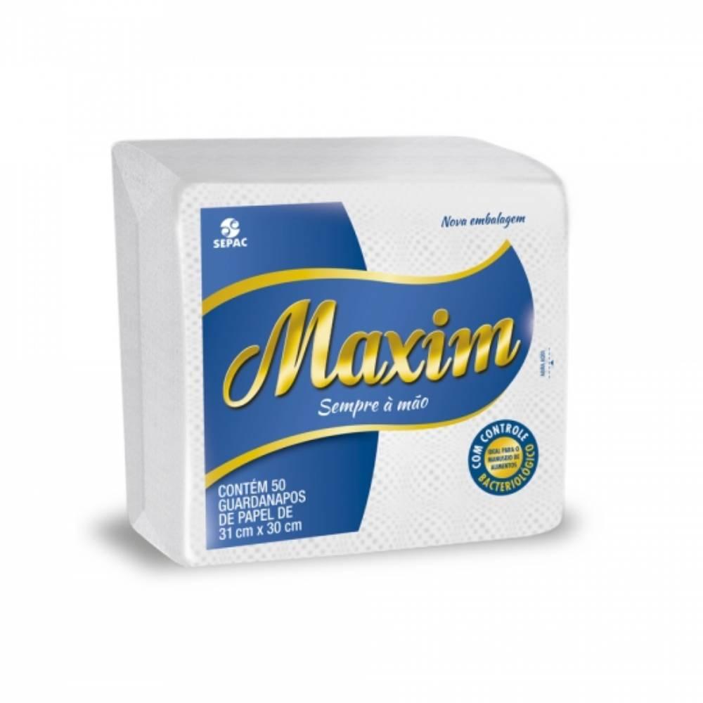 Guardanapo Branco Maxim 50fls. 31x30cm – SEPAC