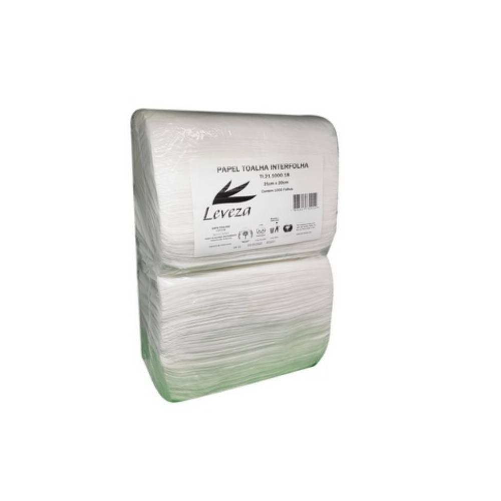 Papel Toalha 100% 1000fls. 21x20cm Leveza – FLAMINGO