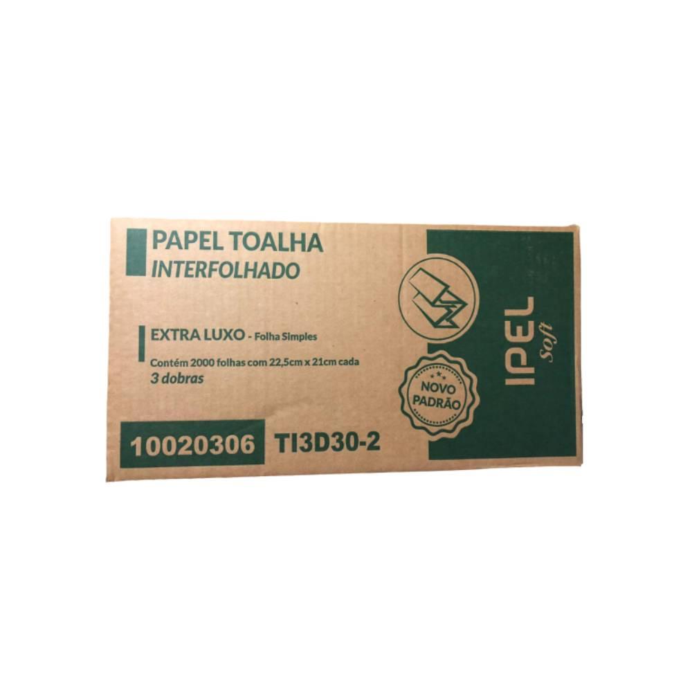 Papel Toalha Soft 3D 100% 2000fls. 22,5x21cm – INDAIAL