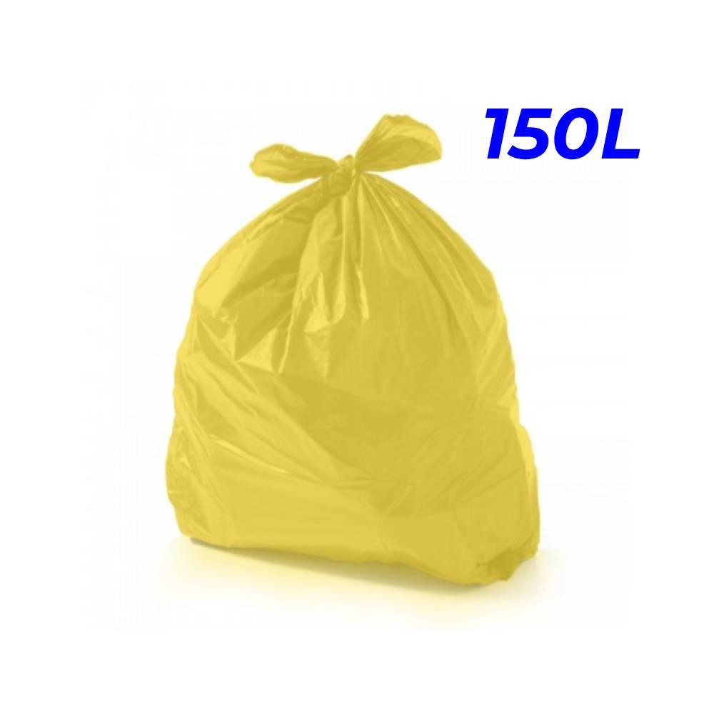 Saco de Lixo Amarelo 150L – SERIART