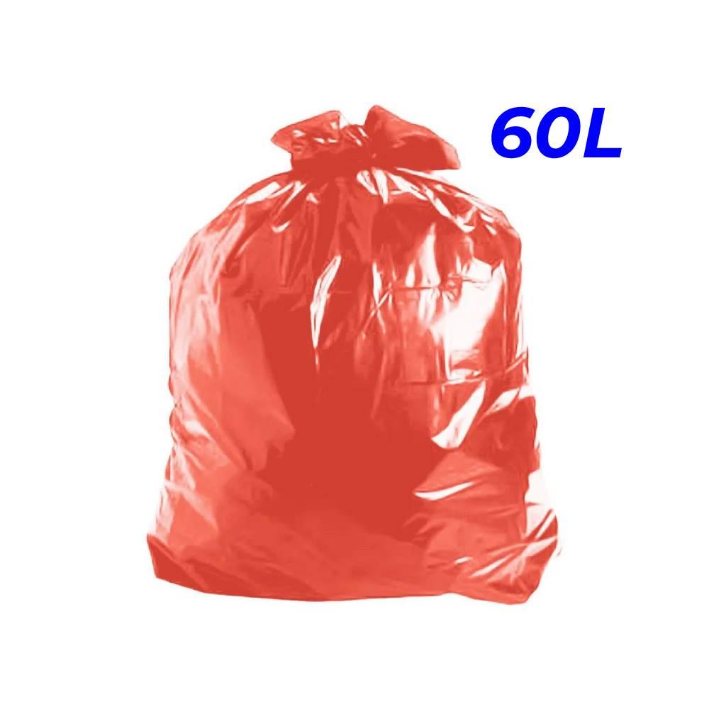 Saco de Lixo Vermelho 60L – SERIART
