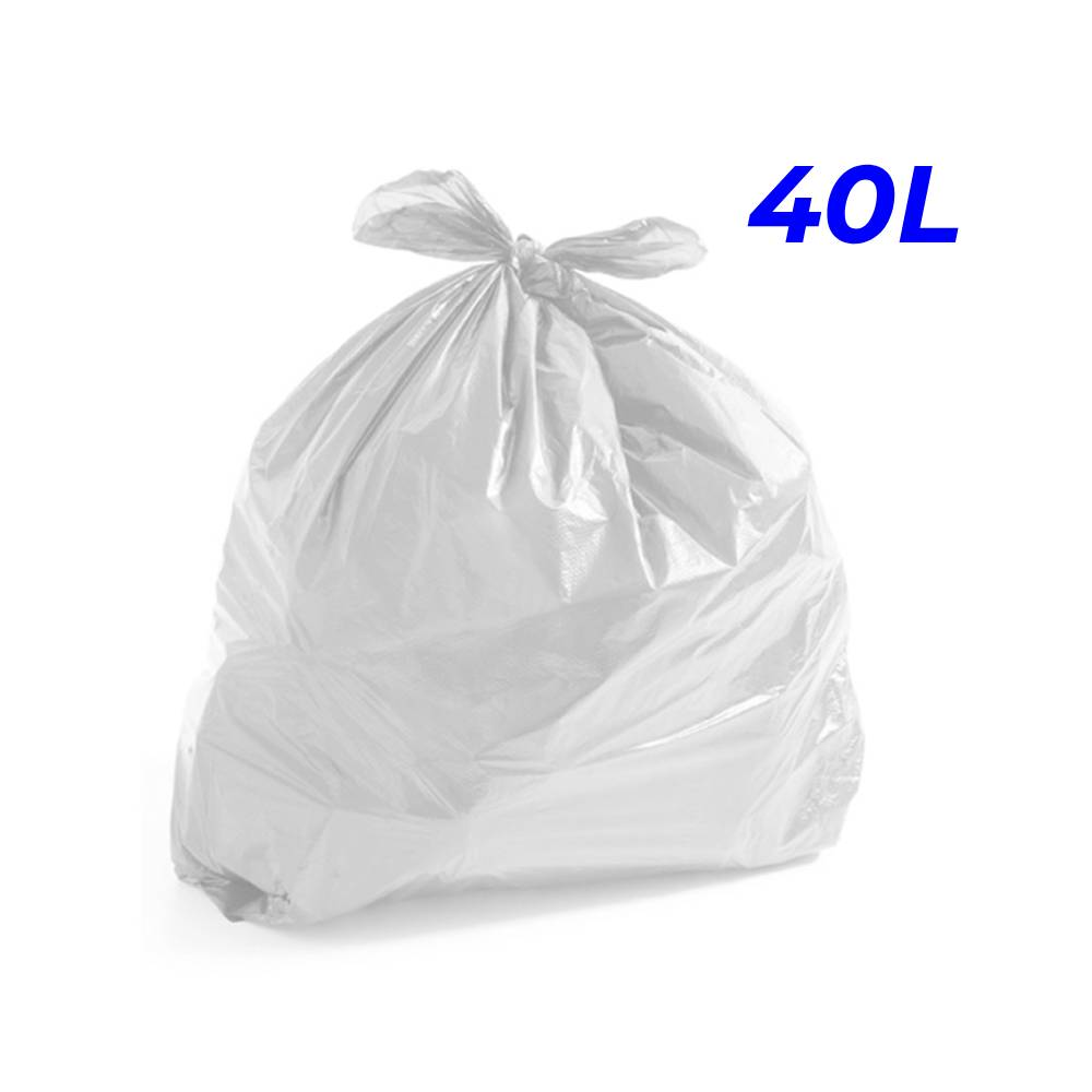 Saco de Lixo Leitoso 40L – SERIART