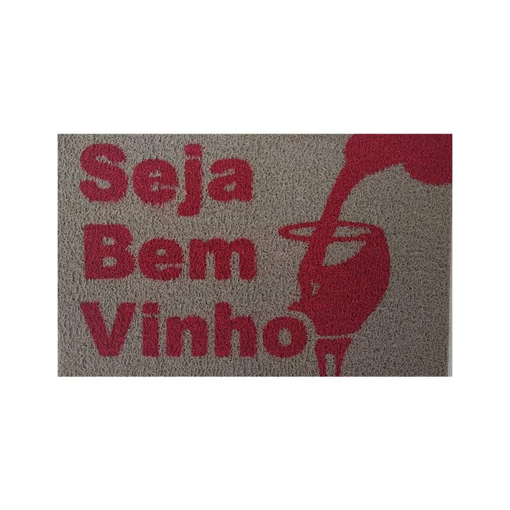 Tapete Capacho Pintado Seja Bem Vinho – 3M