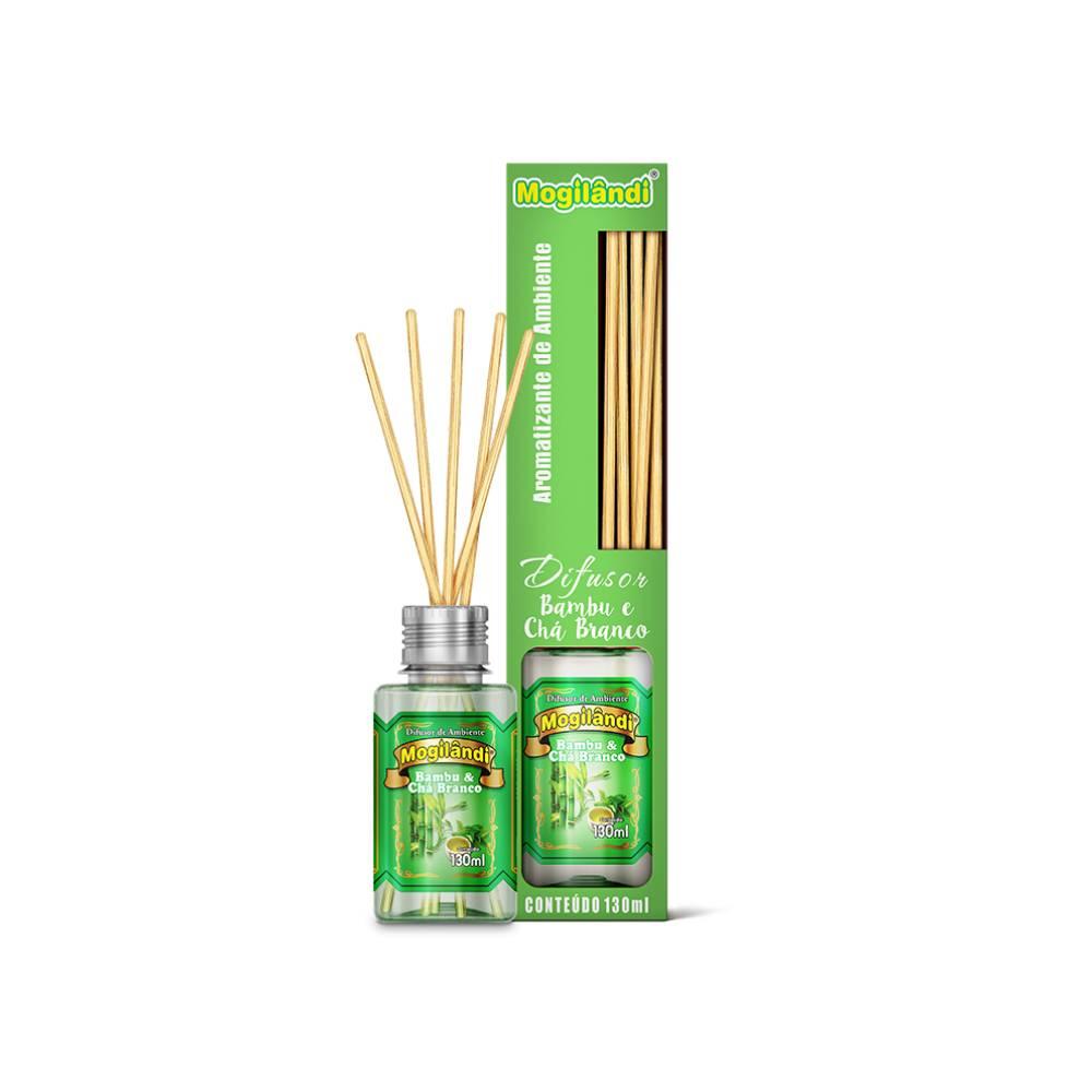 Difusor Ambiental Bamboo e Chá Branco 130ml – MOGILÂNDI